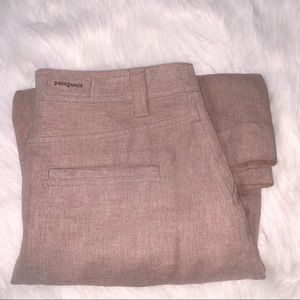 Patagonia Thick Fall Khaki Colored Skirt
